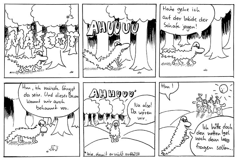 Verlaufen - Mäscot #3