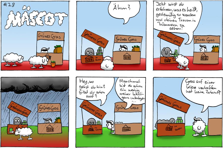 Grasverkauf - Mäscot #28