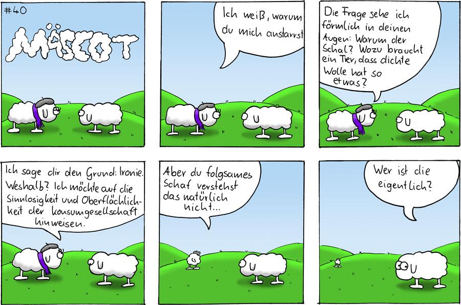 Schal - Mäscot #40