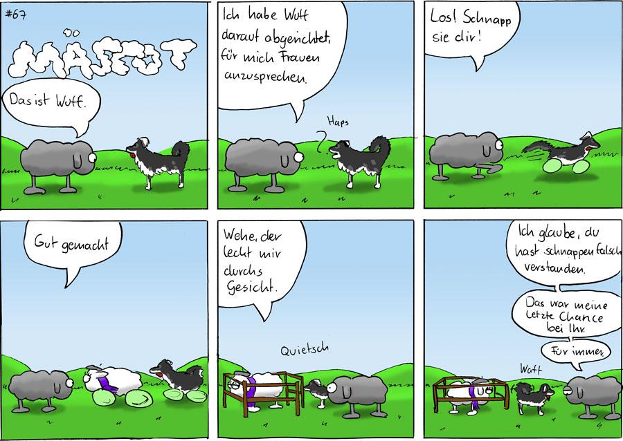 Wuff - Mäscot #67