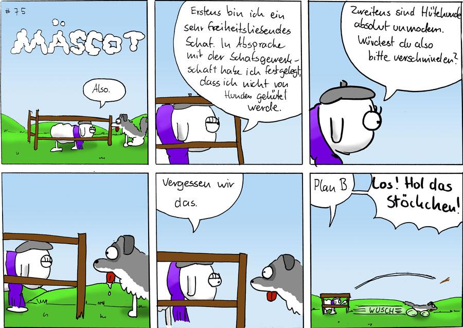 Argumente - Mäscot #75