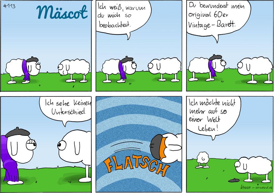 Mäscot das Schaf - Comic #113
