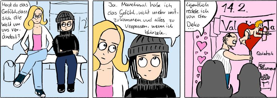 Valentinstag Mascot Das Schaf Webcomic