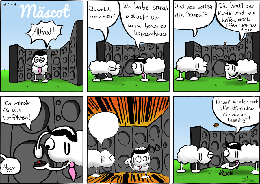 Effektiv - Mäscot das Schaf - Comic #127