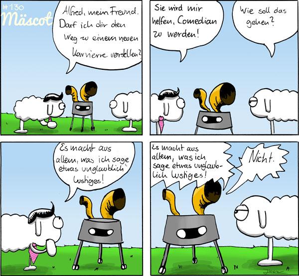 Nicht Mascot 130 Mascot Das Schaf Webcomic