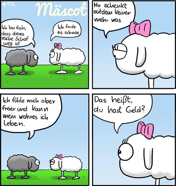 Freiheit - Mäscot das Schaf Comic #132